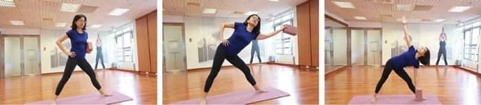 孕婦瑜伽-三角式