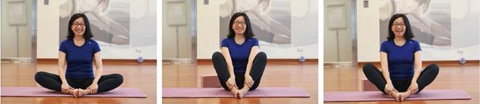 孕婦瑜伽-坐角式