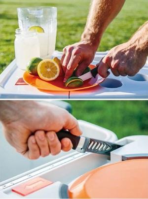 需要創造發明,熱愛冰飲的美國人終於發明可打出凍冰沙的隨行保冰箱。