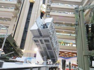 雄三發射系統。(圖片來源:台北航空展)