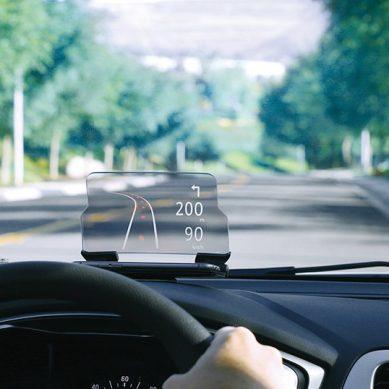HUDWAY Glass 行車安全導航