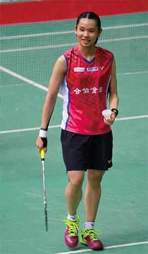 中華隊羽球女將戴資穎未穿著協會贊助商提供的球鞋,羽協竟然想要予以懲處,引起各界譁然。(圖片來源:維基百科Chartlin作品)