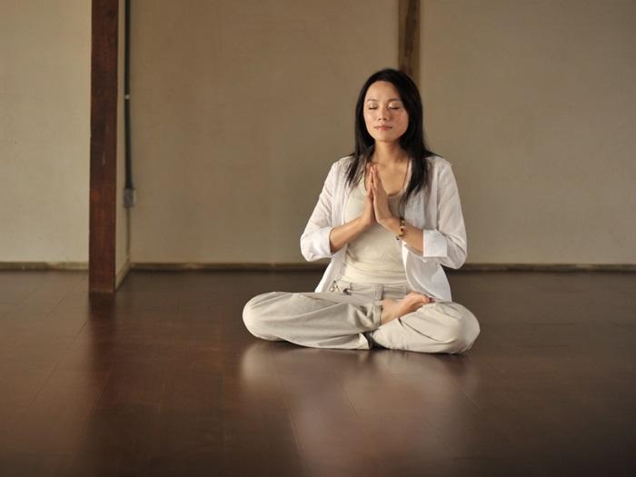 禪坐讓身心舒暢安祥,釋放壓力