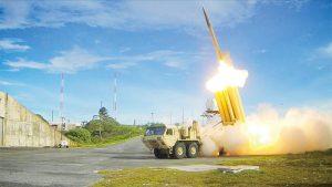 彈道飛彈搭載導彈或核子彈頭是殺傷力最大的軍事武器,薩德反導彈系統能在高空破壞導彈,減輕對地面的影響,是有力的防禦武器。(圖片來源:美國聯邦政府)