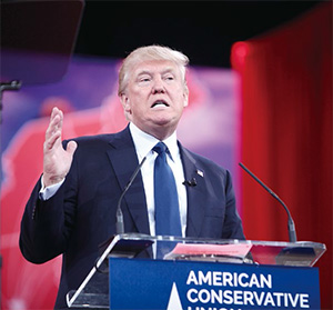 川普的保護主義勢將牽動國際的權力平衡與經濟自由化的改變。