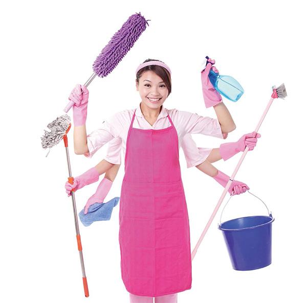 善用清潔打掃用具