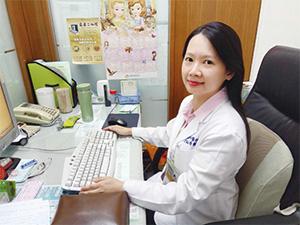 祐新中醫診所副院長曾鈺清中醫師