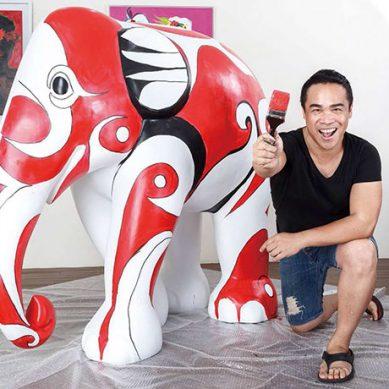 從默默無名的油漆工 優席夫躍升為國際藝術家
