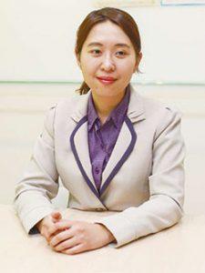 國際通行銷公司業務主任鄭純如