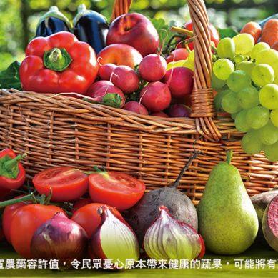 農藥標準頻退讓 政府把關疏漏 民眾做好自保