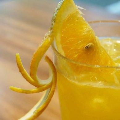 炎夏の味 橘皮水果茶DIY