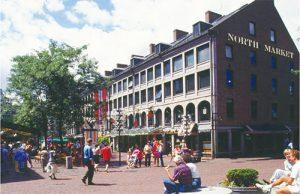美國波士頓的法尼爾廳市集廣場