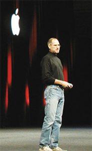 蘋果電腦創辦人賈伯斯的無限創意,來自於禪定中所得到的靈感。(圖片來源:維基百科)