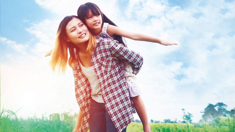 單親媽媽勇敢飛 超越逆境的勇氣