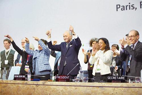 巴黎協議簽署通過