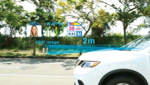 抬頭顯示器讓駕駛不分心 降低車禍率