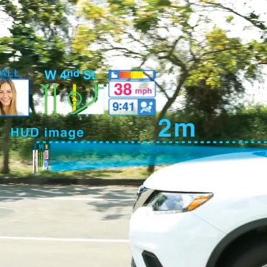 工研院技術突破 抬頭顯示器讓駕駛不分心 降低車禍率