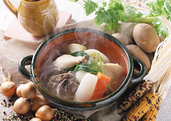 菠菜牛肉湯