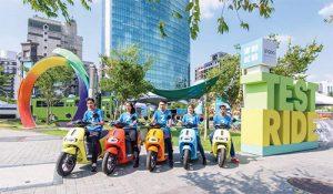 電動車Gogoro甫推出便席捲市場,因為它設計感十足、造型時髦,而且牽動流行,深受年輕人喜愛。(圖片來源:Gogoro Taiwan 臉書)