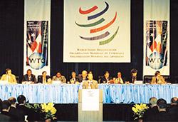 WTO 對於國際貿易有實質影響力,台灣是會員國,可多加利用此平台連結世界。(圖片來源:維基百科)