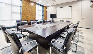 會議前務必檢查場地、設備器材及會場清潔。