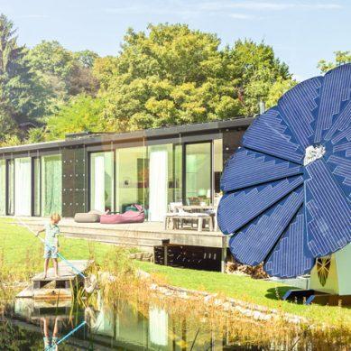 Smartflower太陽花瓣能源裝置 讓呆板的太陽能發電美輪美奐