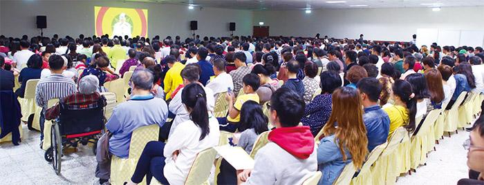 主辦單位特別在蕙蓀堂地下室闢出第二會場