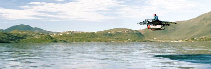 新創公司Kitty-Hawk-開發出像直升機