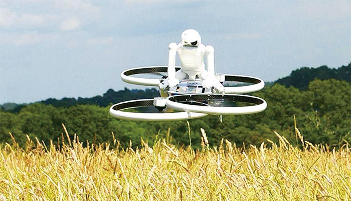 英國Malloy-Aeronautics公司製造出小飛行車原型機