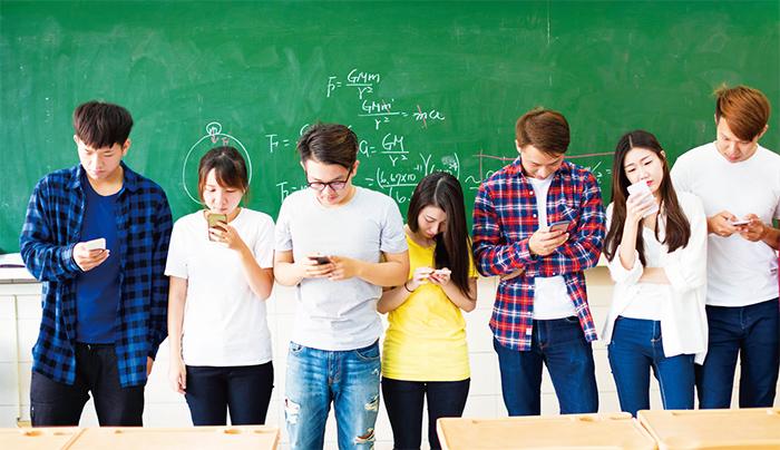 台灣年輕學子的網路成癮比例已近兩成逐步追上比例最高的韓國