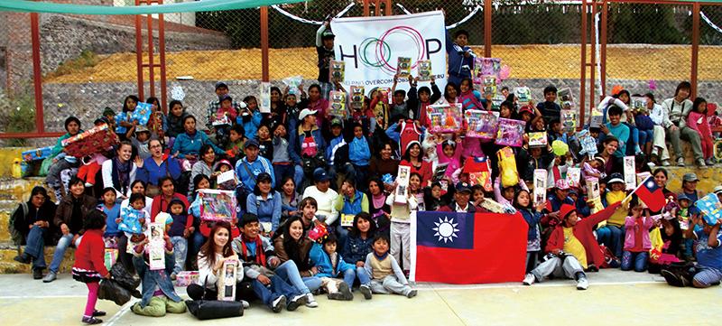 李尚儒的志工組織HOOP讓台灣與秘魯零