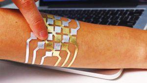 皮膚上的智慧觸控板