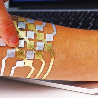 這不是刺青 皮膚上的智慧觸控板