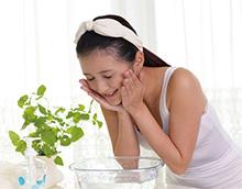 霾害期間,外出回家後, 應盡快洗臉