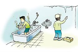 屋內如果發現黴菌,應立即刷洗清除