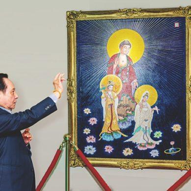 悟覺妙天禪師親臨開光 觀音菩薩法相畫展
